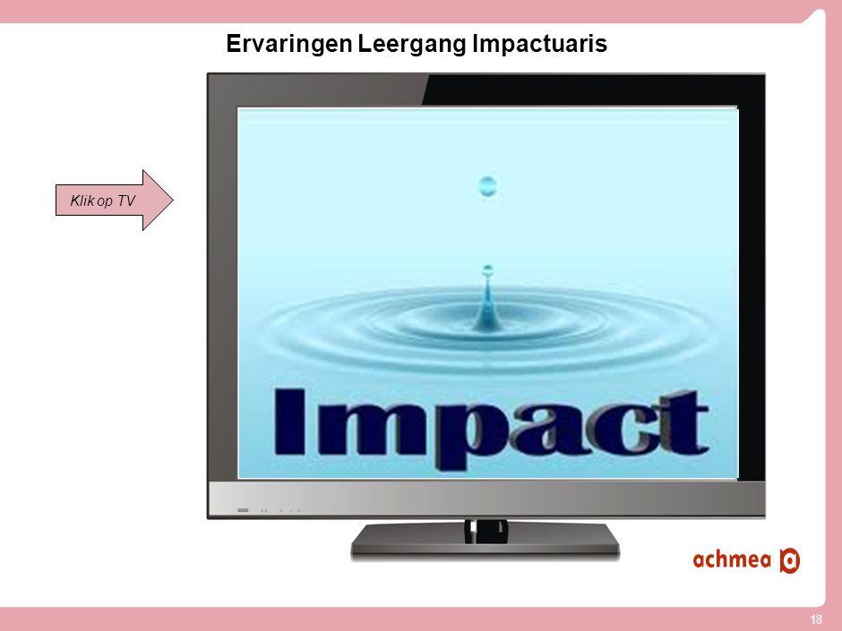 Ervaringen Leergang Impactuaris: Op naar een actuariële kolom als startpunt van innovatie!