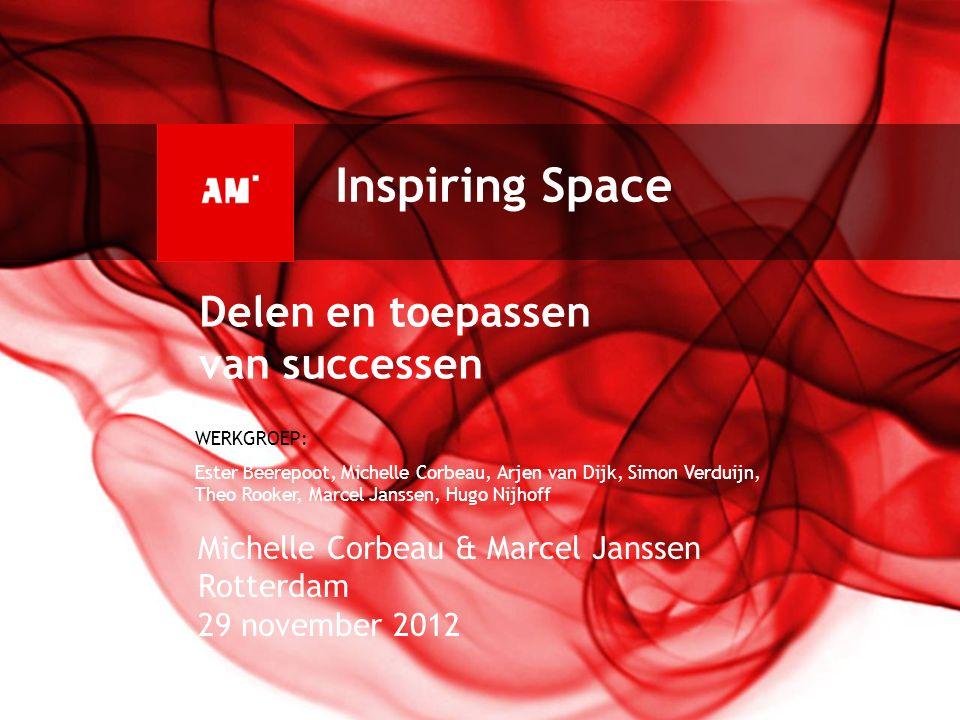 Inspiring Space Delen en toepassen van successen