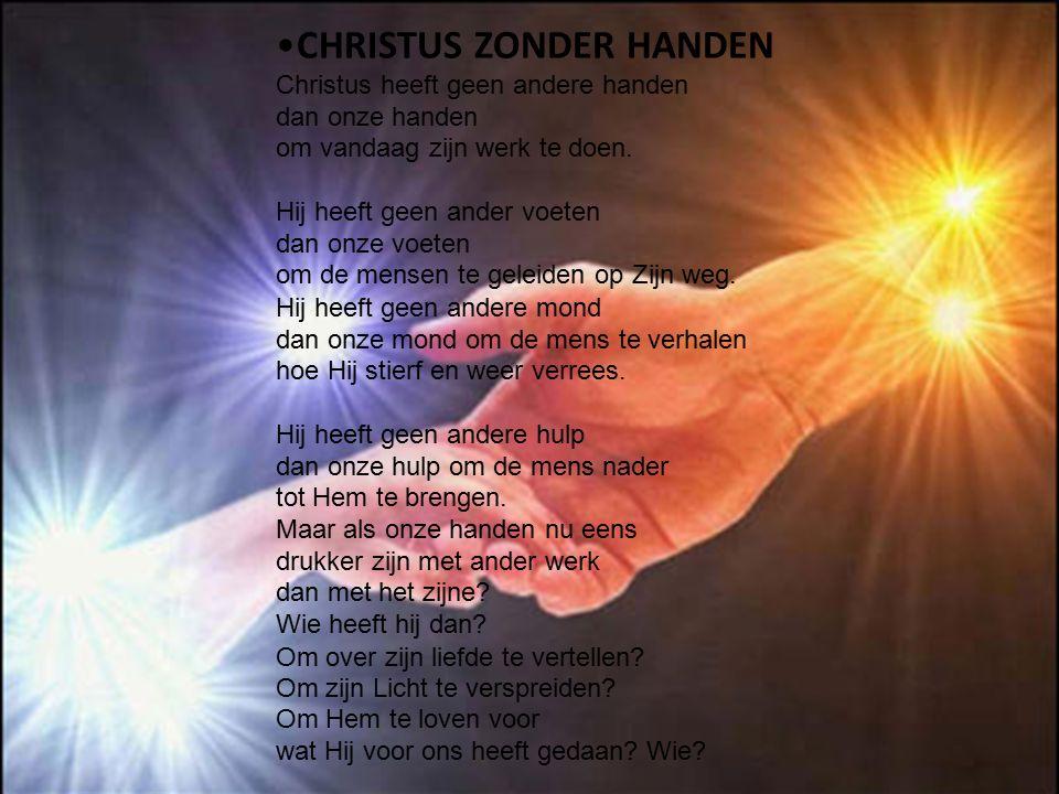 CHRISTUS ZONDER HANDEN