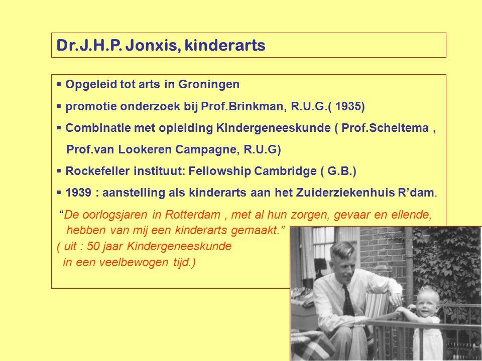 Dr.J.H.P. Jonxis, kinderarts