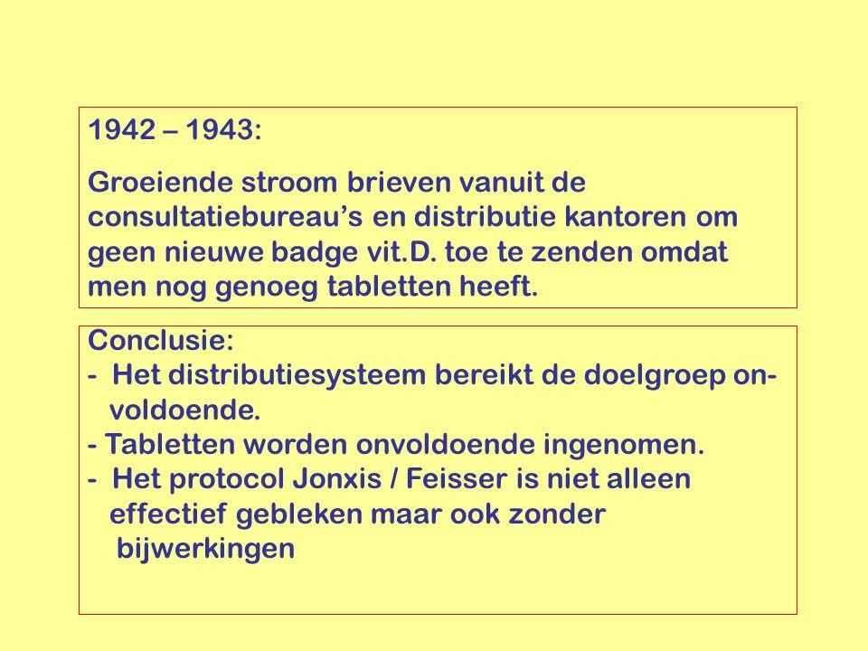 1942 – 1943: