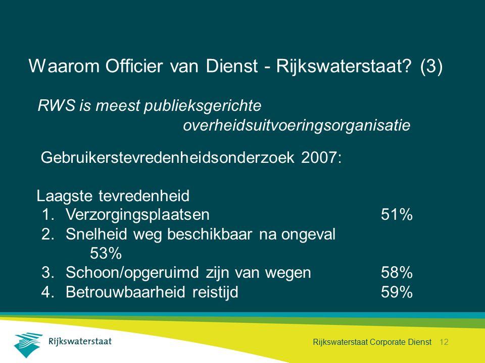 Waarom Officier van Dienst - Rijkswaterstaat (3)