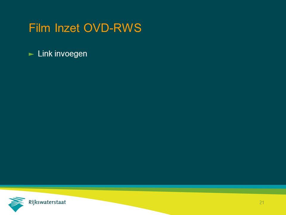 Film Inzet OVD-RWS Link invoegen