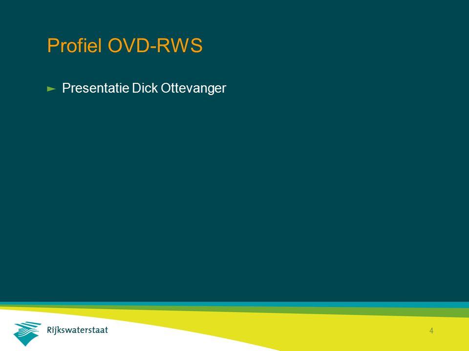 Profiel OVD-RWS Presentatie Dick Ottevanger