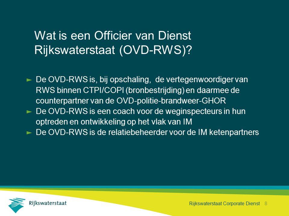 Wat is een Officier van Dienst Rijkswaterstaat (OVD-RWS)