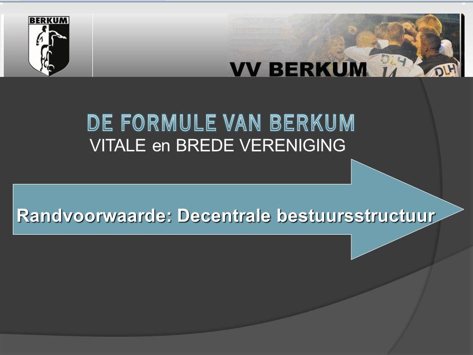 Randvoorwaarde: Decentrale bestuursstructuur