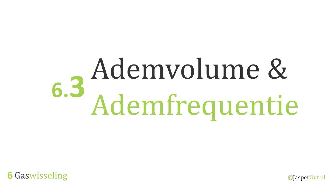 Ademvolume & Ademfrequentie
