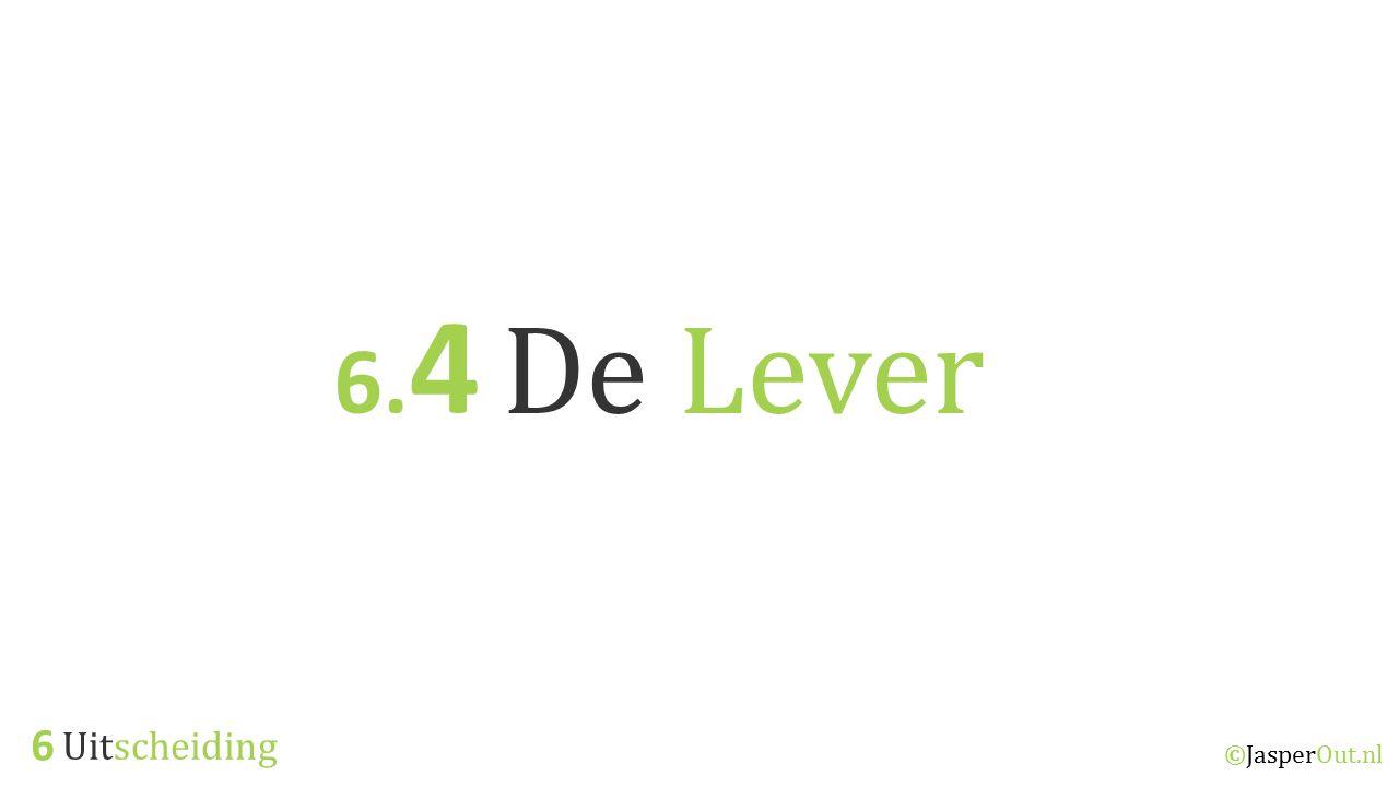 6.4 De Lever 6 Uitscheiding ©JasperOut.nl