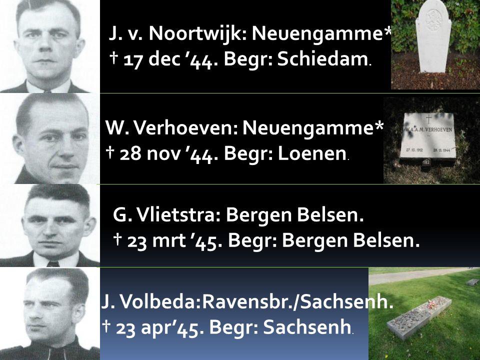 J. v. Noortwijk: Neuengamme*.