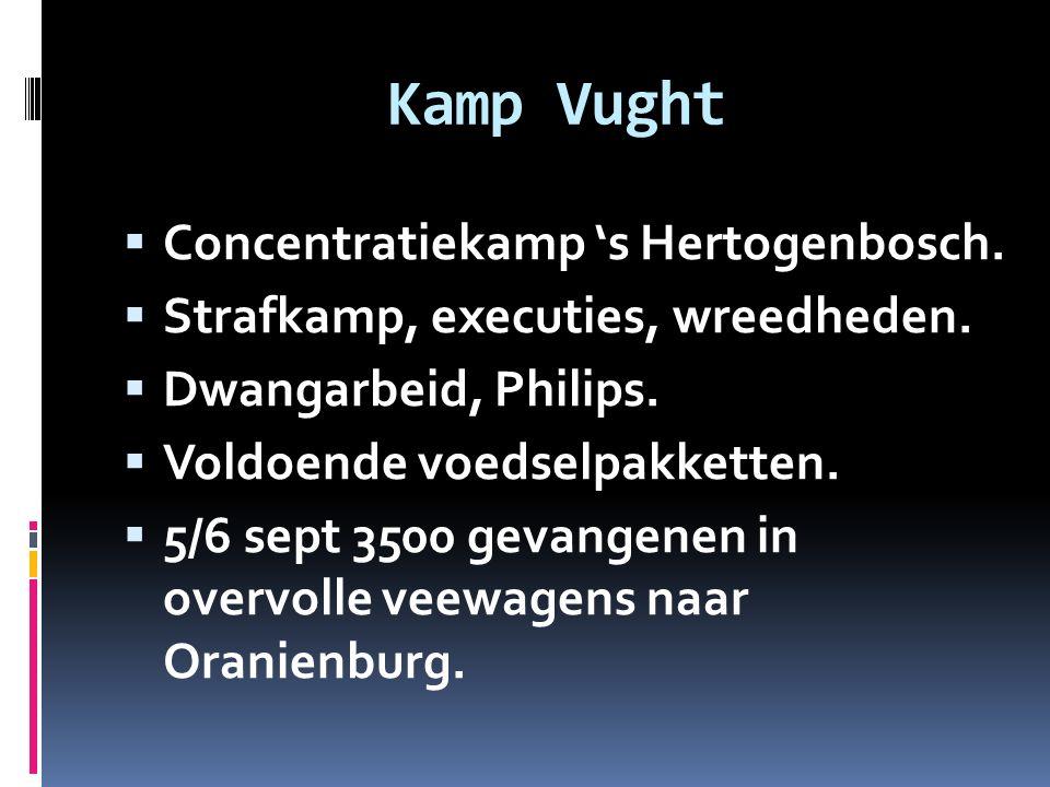 Kamp Vught Concentratiekamp 's Hertogenbosch.