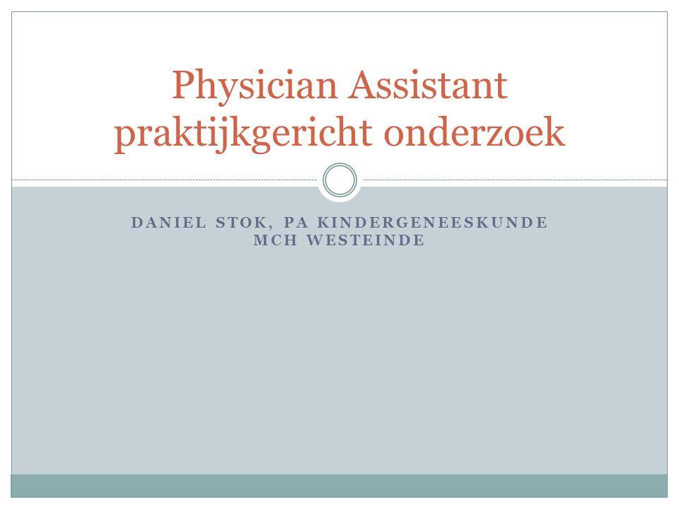 Physician Assistant praktijkgericht onderzoek