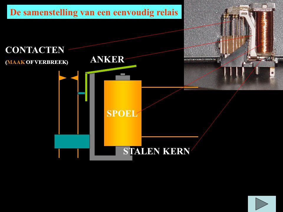 De samenstelling van een eenvoudig relais