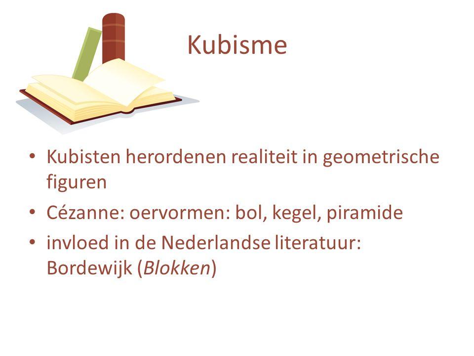 Kubisme Kubisten herordenen realiteit in geometrische figuren