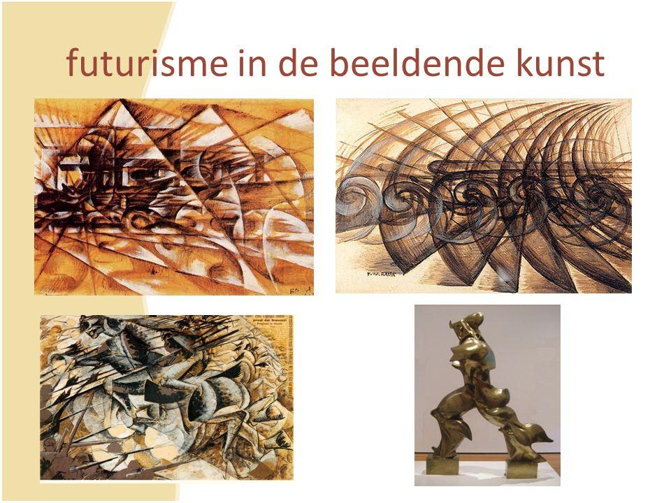 futurisme in de beeldende kunst