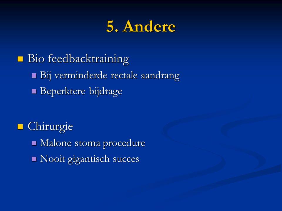 5. Andere Bio feedbacktraining Chirurgie