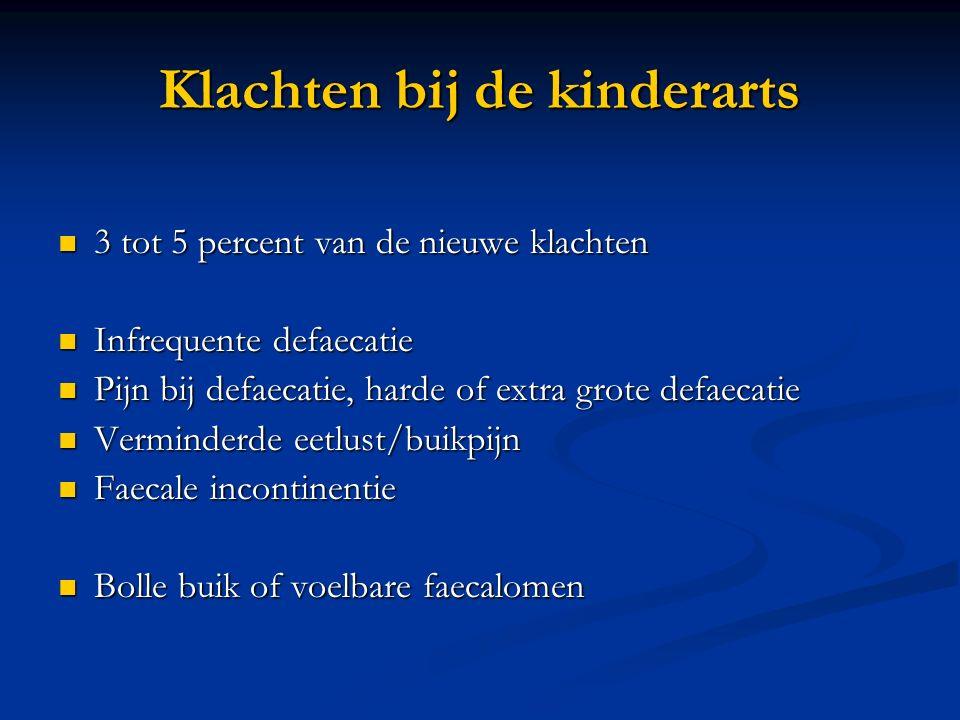 Klachten bij de kinderarts