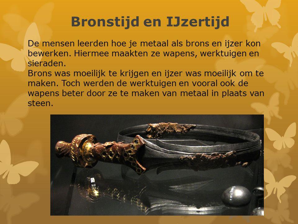 Bronstijd en IJzertijd