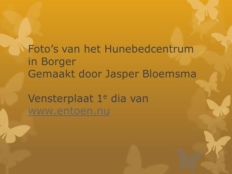 Foto's van het Hunebedcentrum in Borger Gemaakt door Jasper Bloemsma Vensterplaat 1e dia van www.entoen.nu