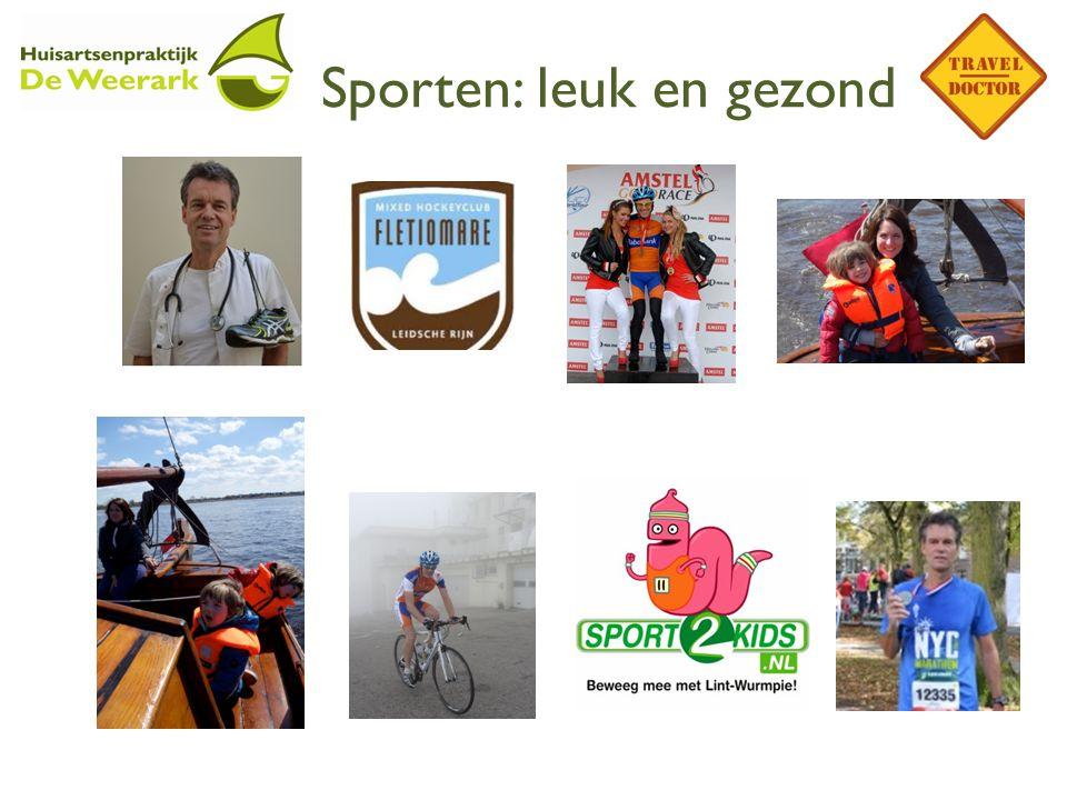 Sporten: leuk en gezond