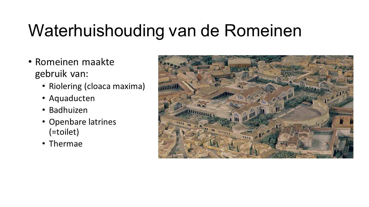 Waterhuishouding van de Romeinen