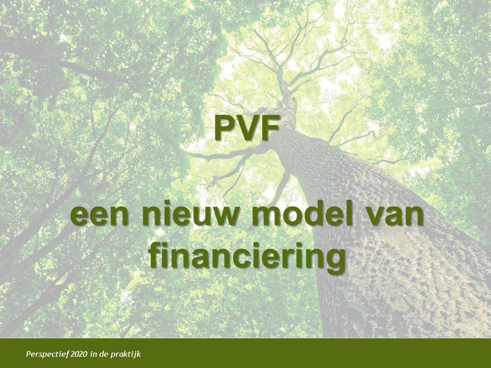 PVF een nieuw model van financiering
