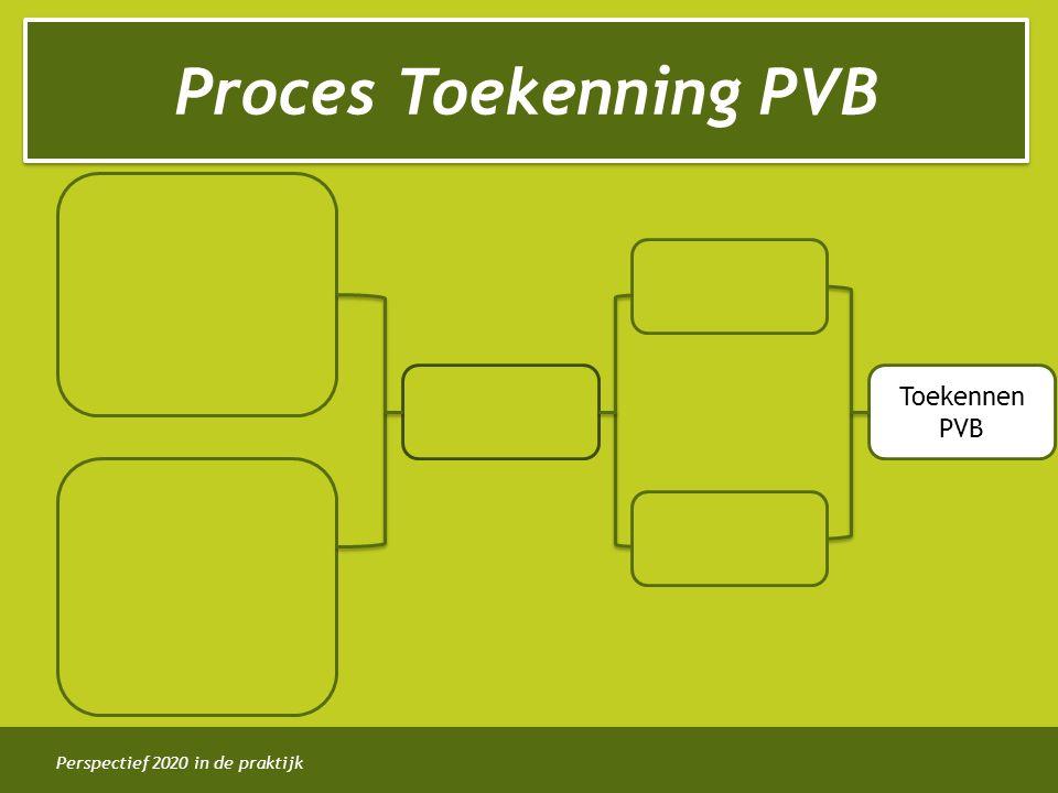Proces Toekenning PVB Toekennen PVB