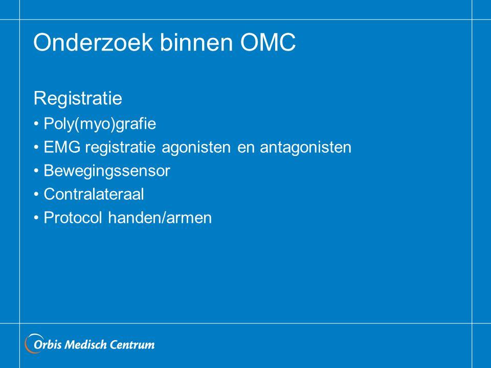 Onderzoek binnen OMC Registratie Poly(myo)grafie