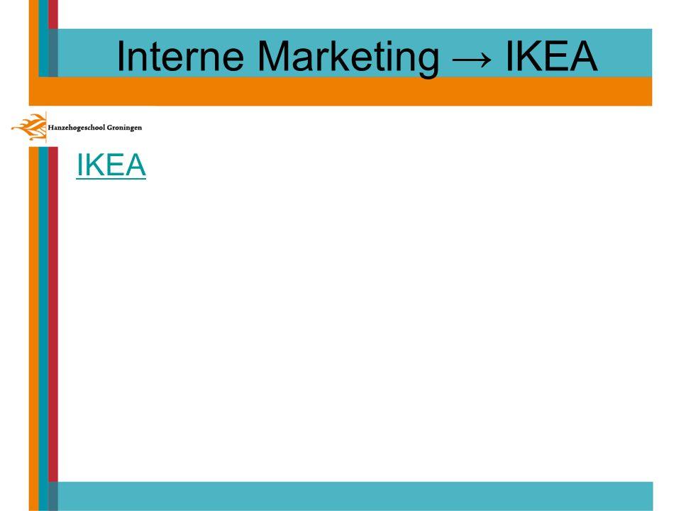 Interne Marketing → IKEA