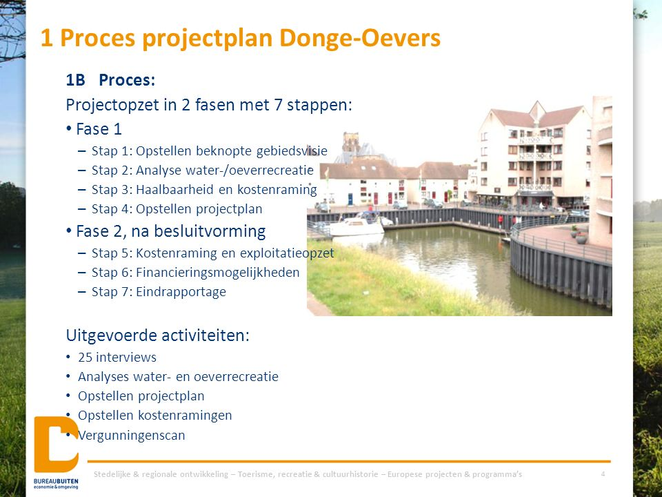 1 Proces projectplan Donge-Oevers