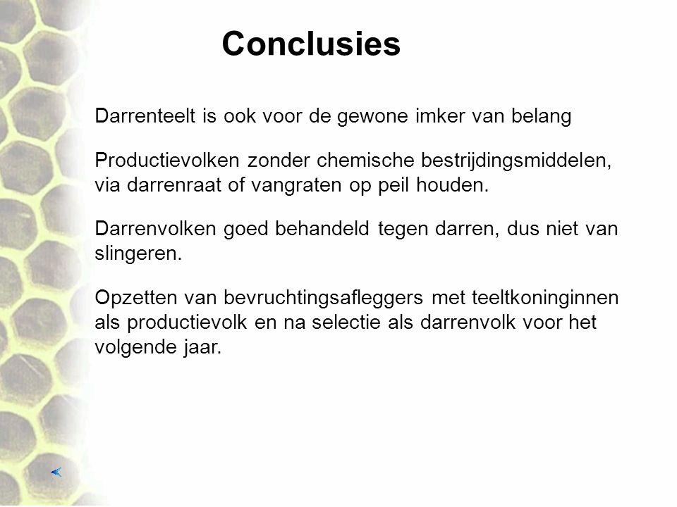 Conclusies Darrenteelt is ook voor de gewone imker van belang