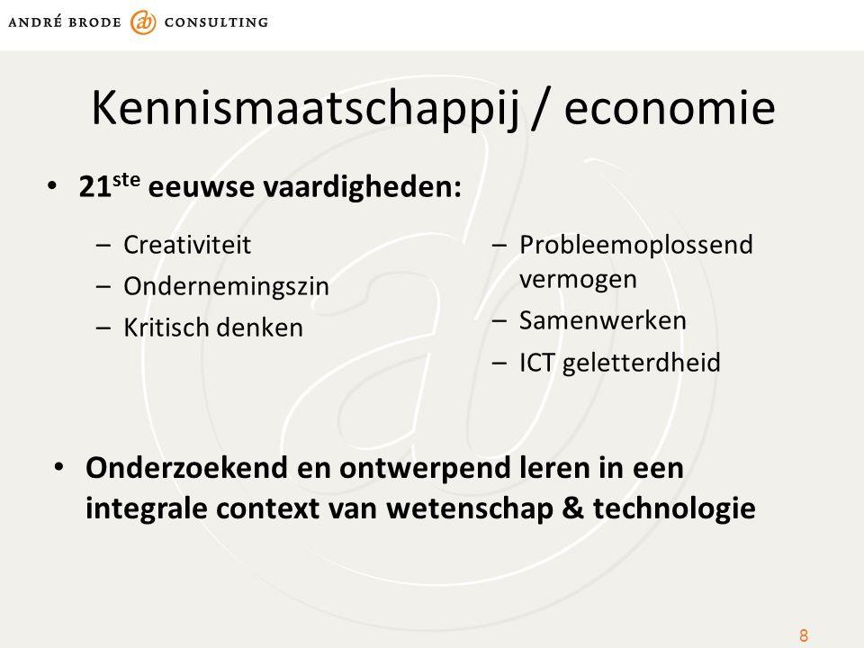 Kennismaatschappij / economie