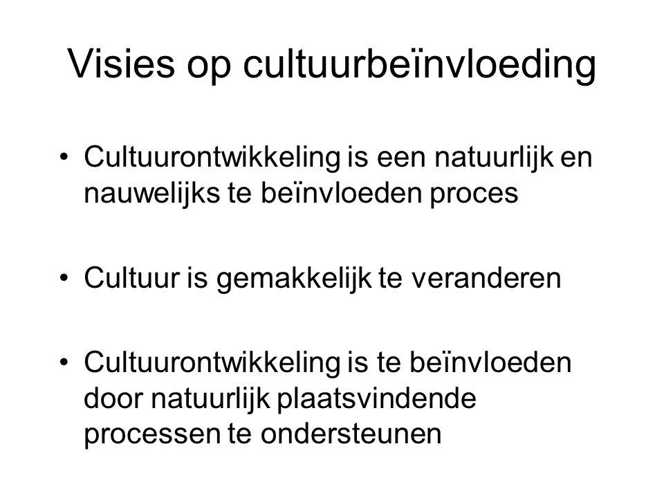 Visies op cultuurbeïnvloeding
