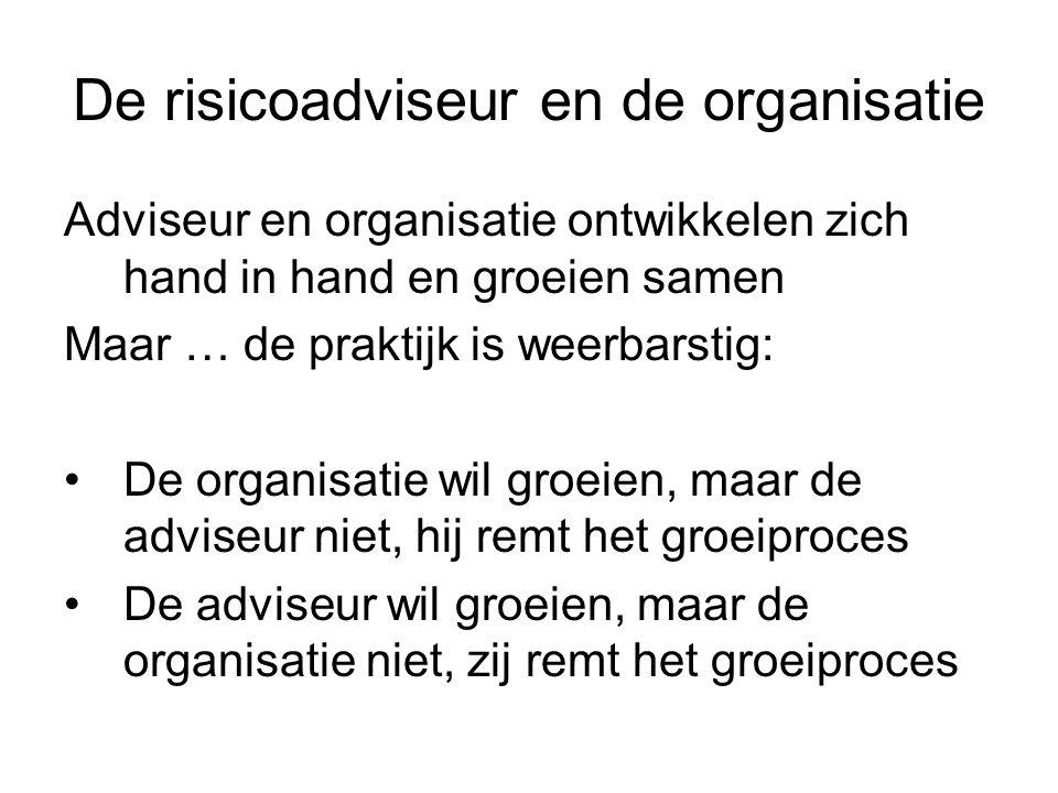 De risicoadviseur en de organisatie