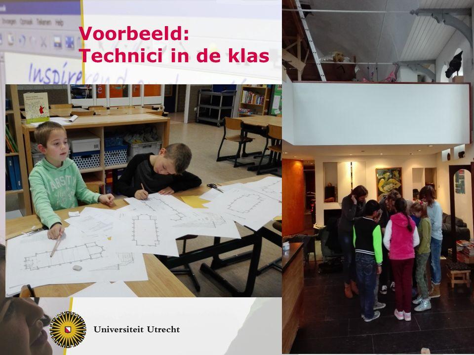 Voorbeeld: Technici in de klas