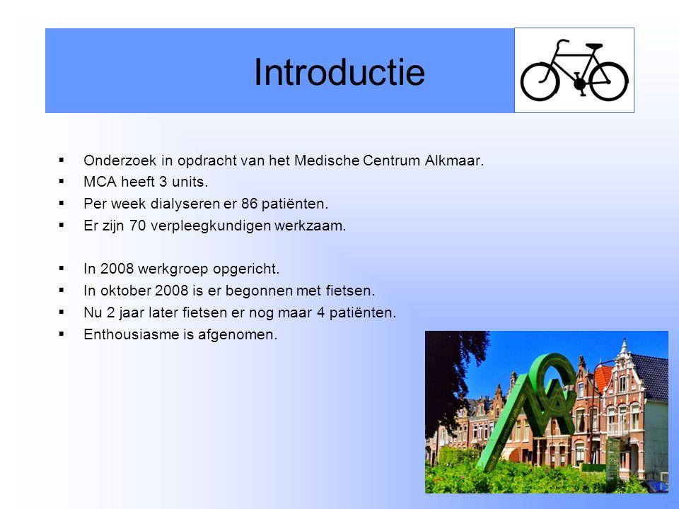 Introductie Onderzoek in opdracht van het Medische Centrum Alkmaar.