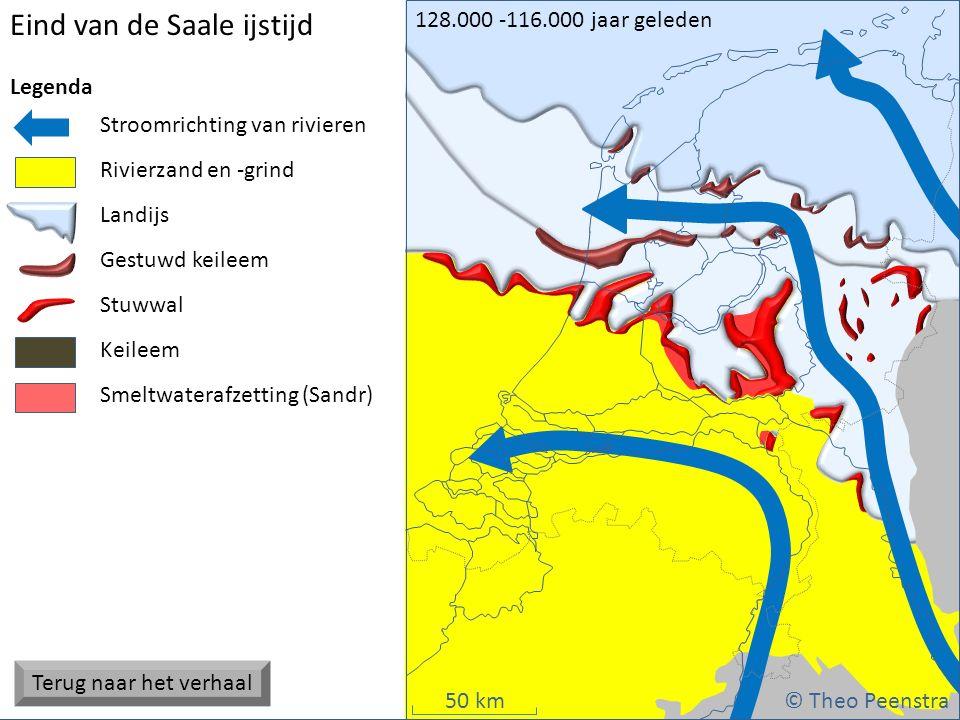 Eind van de Saale ijstijd
