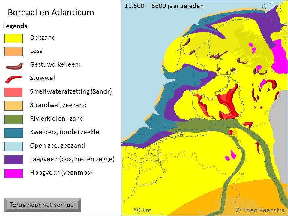 Weichsel ijstijd Boreaal en Atlanticum Terug naar het verhaal
