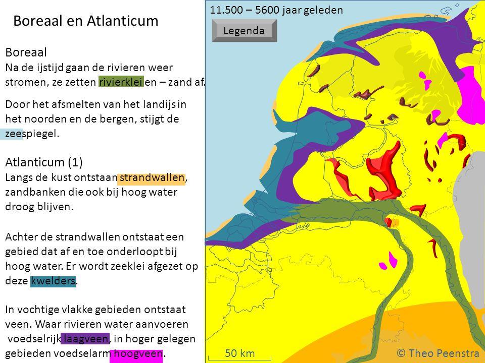 Weichsel ijstijd Boreaal en Atlanticum Boreaal Atlanticum (1)