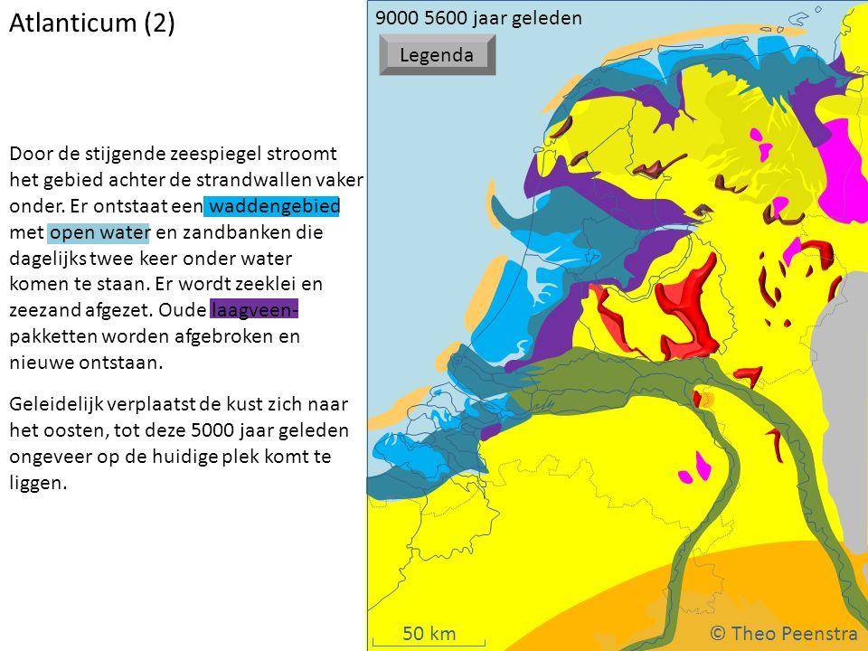 Atlanticum (2) © Theo Peenstra 9000 5600 jaar geleden Legenda