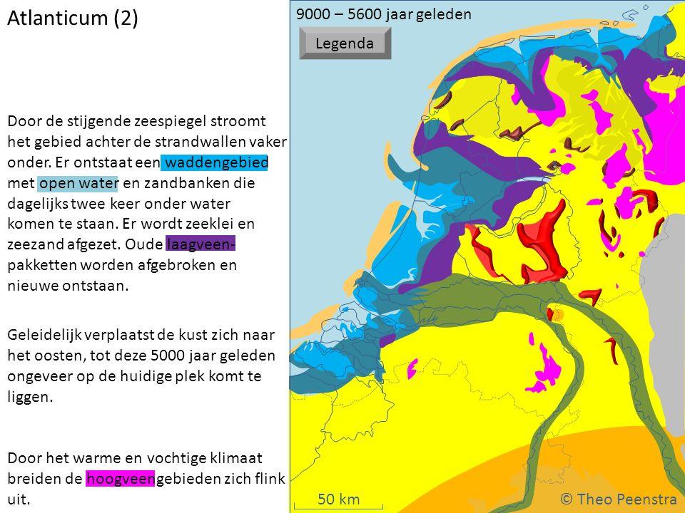 Atlanticum (2) © Theo Peenstra 9000 – 5600 jaar geleden Legenda