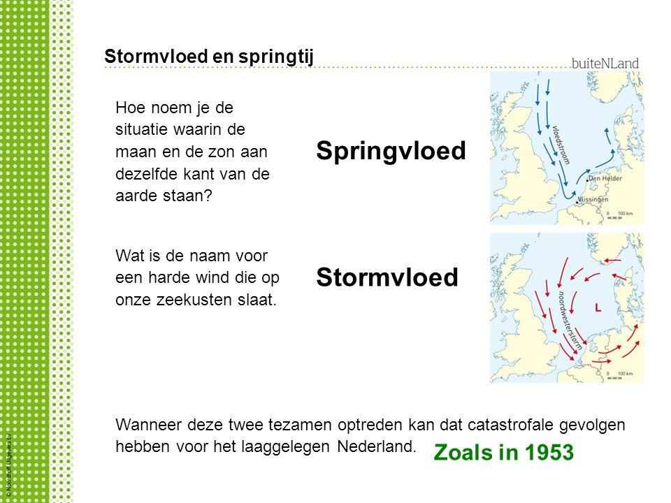 Stormvloed en springtij