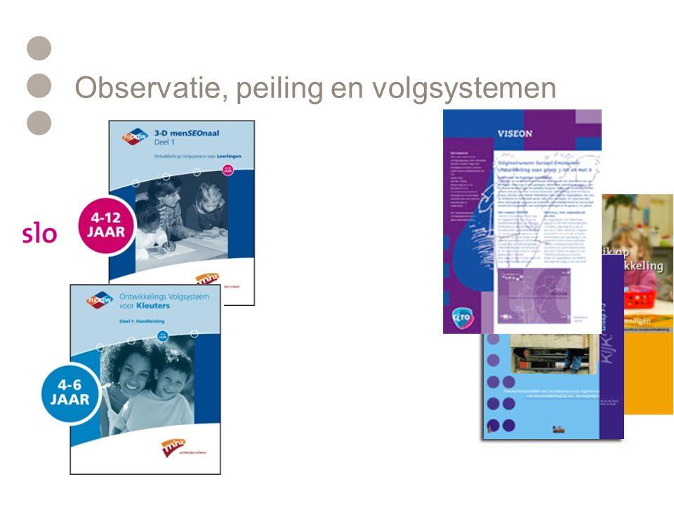 Observatie, peiling en volgsystemen