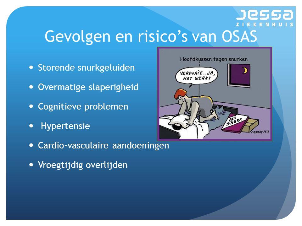 Gevolgen en risico's van OSAS
