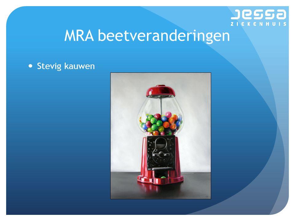 MRA beetveranderingen