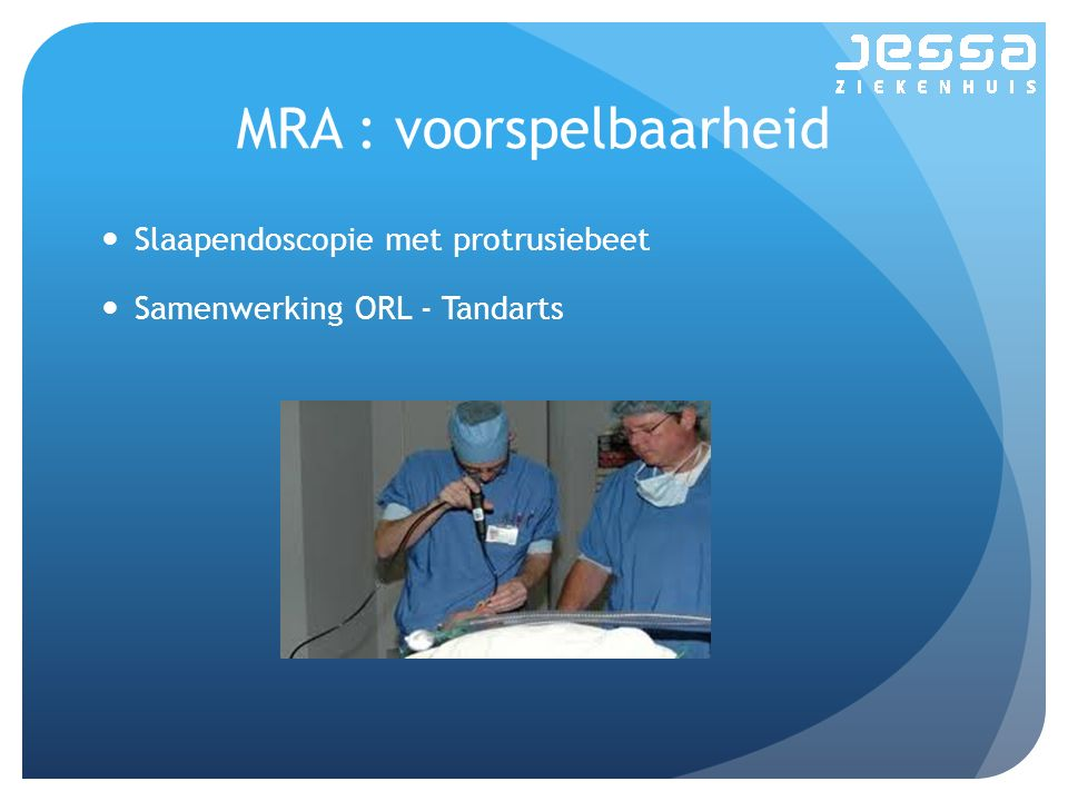 MRA : voorspelbaarheid