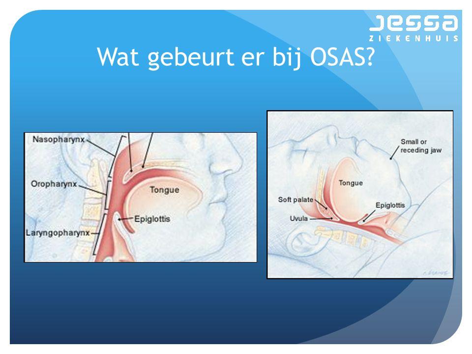 Wat gebeurt er bij OSAS