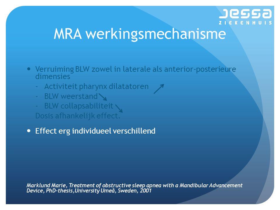 MRA werkingsmechanisme