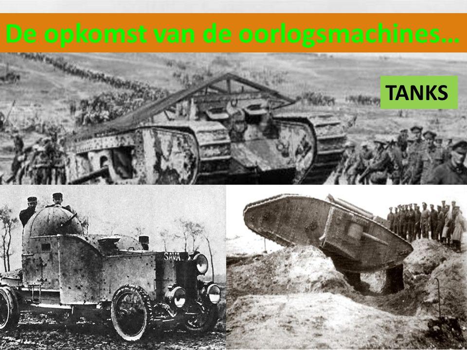 De opkomst van de oorlogsmachines…