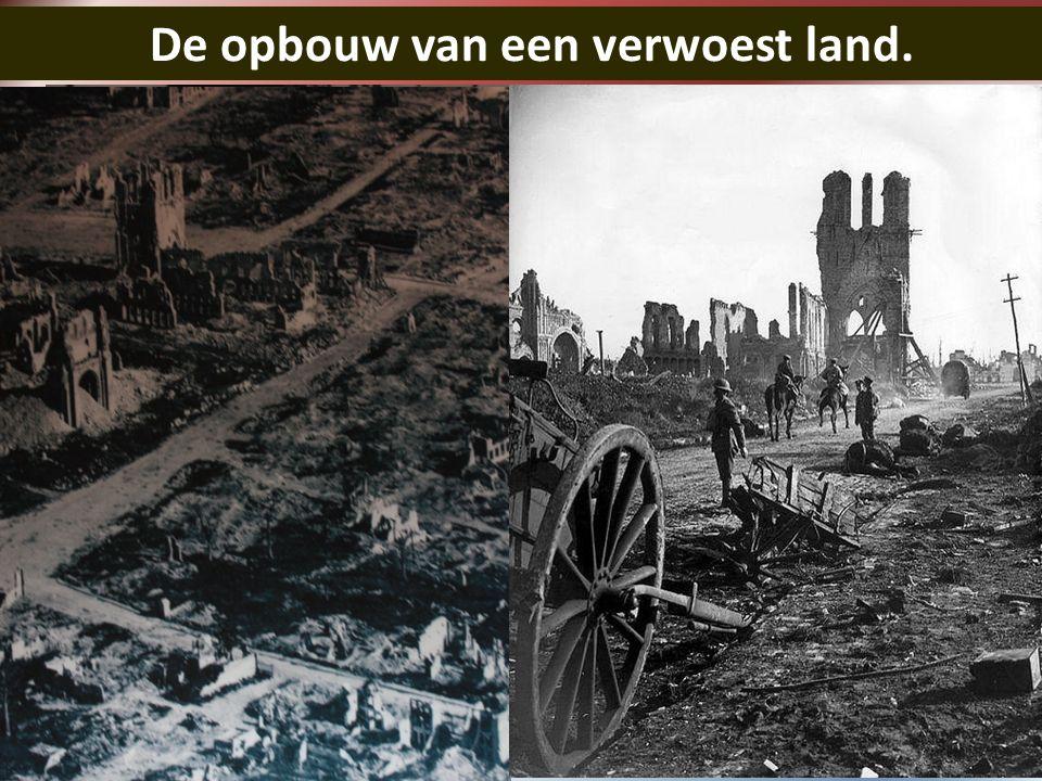 De opbouw van een verwoest land.