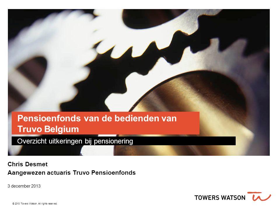 Pensioenfonds van de bedienden van Truvo Belgium